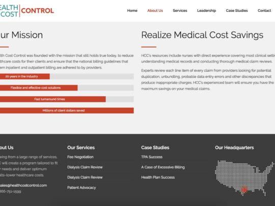 Health Cost Control
